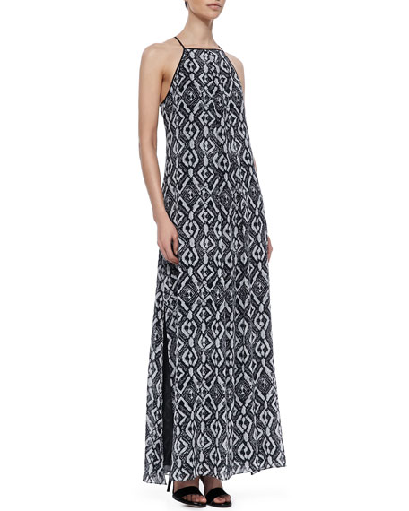 Jungle Printed Maxi Dress
