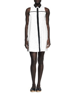 Rag & Bone London Printed Poplin Shirtdress
