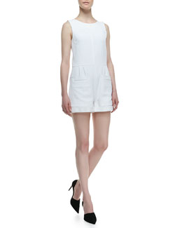 Theory Hadrine Sleeveless Romper
