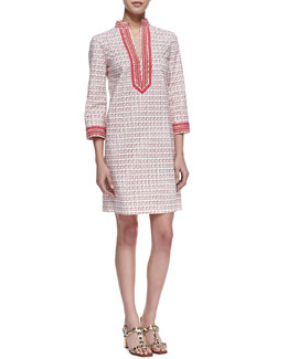 Tory Burch Tory Printed Mini Dress