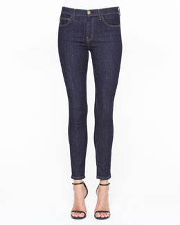Current/Elliott High-Waist Skinny Ankle Jeans