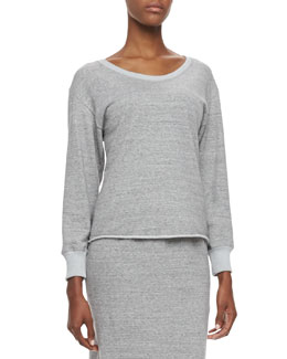 Theyskens' Theory Cushi Long-Sleeve Blouse