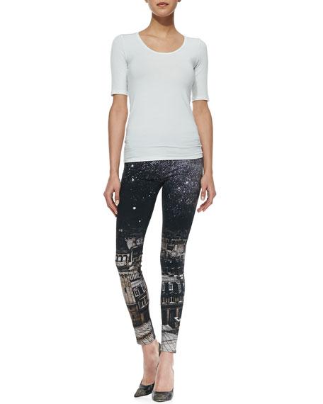 Nico Versailles Printed Super-Skinny Jeans