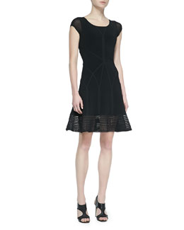 Diane von Furstenberg St. Petersburg Fit-&-Flare Dress