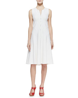 Nanette Lepore Make Believe Zip-Front Dress