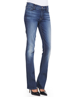 7 For All Mankind The Skinny Bootcut Jeans, True Blue