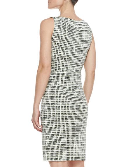 Paris Silk Sleeveless Dress