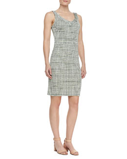 Tory Burch Paris Silk Sleeveless Dress