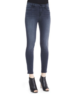 J Brand Jeans Alana Mystery High-Rise Stretch Stocking Jeans