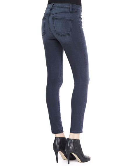 Alana Mystery High-Rise Stretch Stocking Jeans