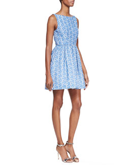 Alice + Olivia Lillyanna Printed Floral Dress