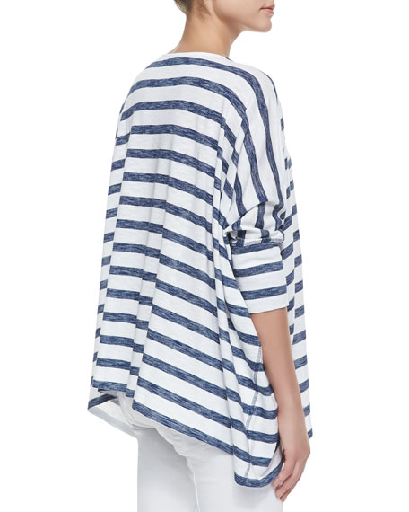 Patti Striped-Jersey Top