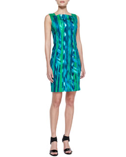 Elie Tahari Davis Bay Print Dress