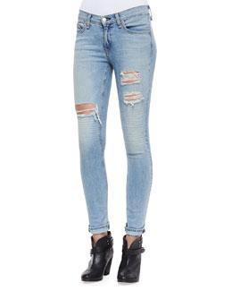 rag & bone/JEAN The Skinny Ripped Jeans, Convoy