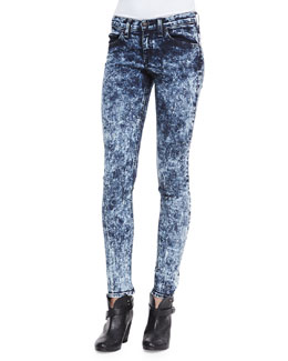 rag & bone/JEAN The Skinny Acid Wash Jeans
