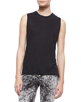 rag & bone/JEAN Mack Sleeveless Muscle Tank