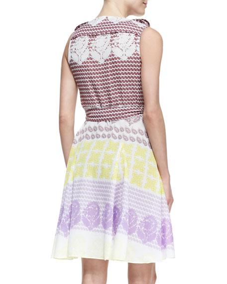 Elsa Printed Wrap Dress