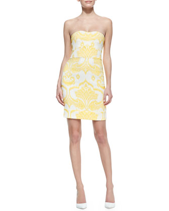 Sale alerts for Diane von Furstenberg  Garland Two Strapless Dress  - Covvet