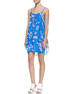 Alice + Olivia Rhi Printed Tank Dress