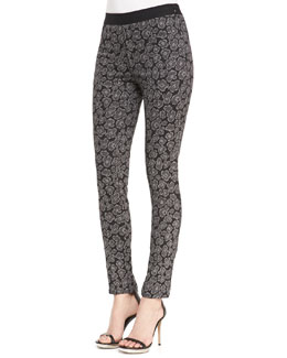 MARC by Marc Jacobs Heather Skinny Jacquard Pants