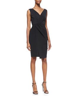 Elie Tahari Vitra Faux-Wrap Dress