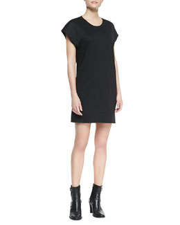 Helmut Lang Quell Jersey T-Shirt Dress