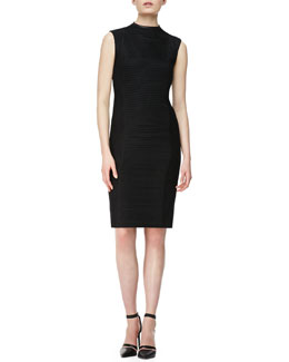 Helmut Lang Trance Framed Knit Dress