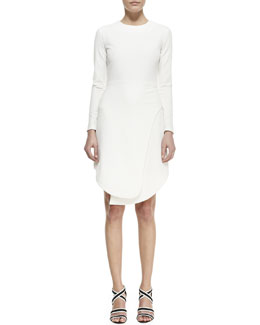 Opening Ceremony Manera Knit Long-Sleeve Dress