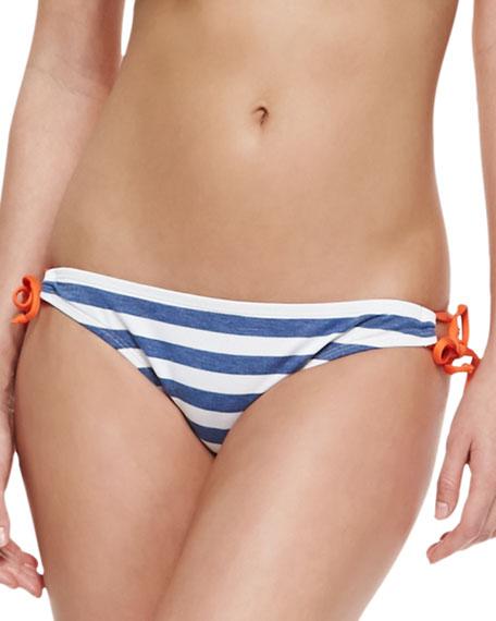 Tunnel Striped Tie-Side Swim Bottom