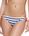 Splendid Tunnel Striped Tie-Side Swim Bottom