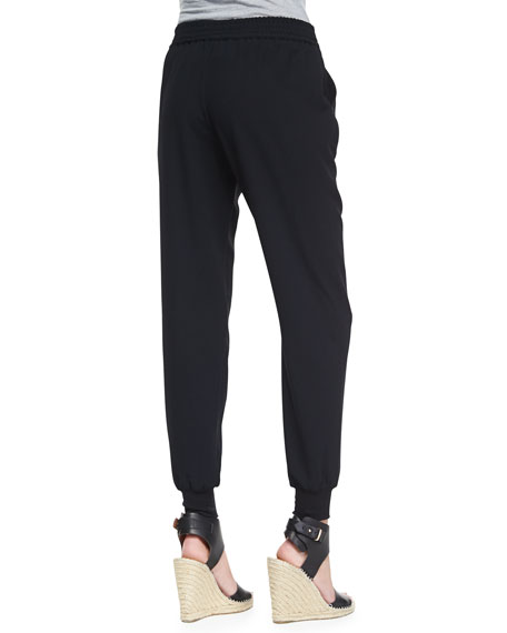 Diara Jersey Slouch Pants