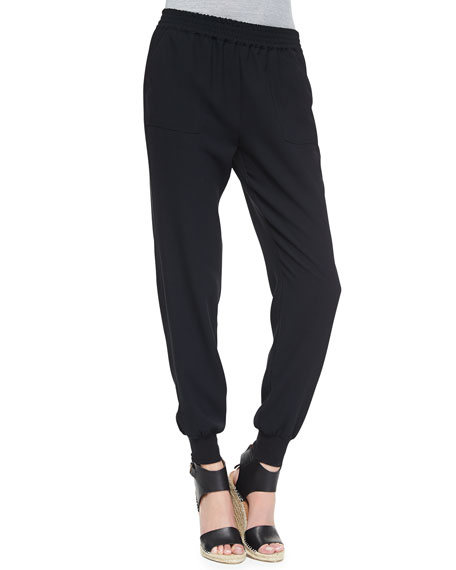 Joie Diara Jersey Slouch Pants
