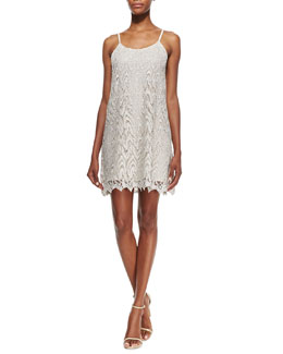 Alice + Olivia Emmie Lace Slip Dress