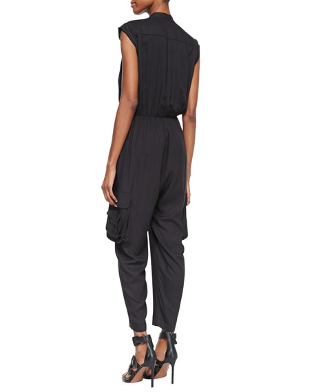 Dylan Jersey Cargo Jumpsuit