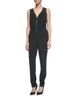 Nanette Lepore Break Loose Sleeveless Jumpsuit