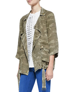 Current/Elliott The Infantry Camo-Print Jacket