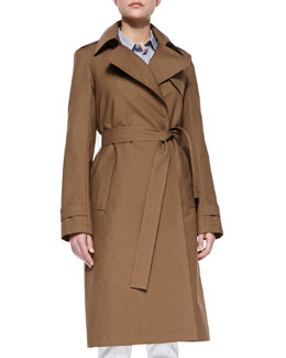 Theory Ashling Trench Coat