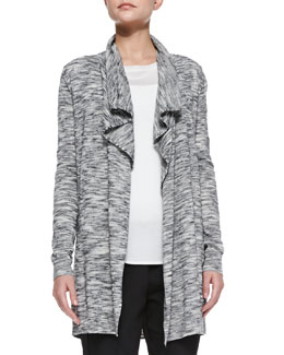 Theory Trincy C Space-Dye Open Cardigan