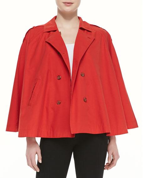 Rosamonde Twill Jacket, Dark Spicy Orange