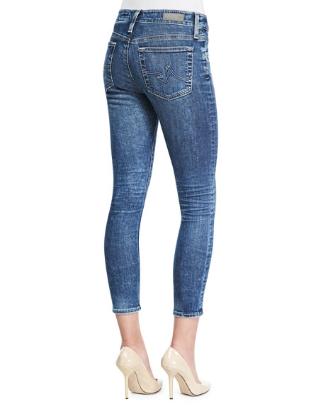 Farrah 12 Years Vintage High-Rise Cropped Skinny Jeans