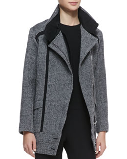 IRO Bailey Herringbone Coat