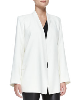 Helmut Lang Noa Open-Front Suiting Jacket