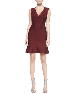 Herve Leger Tracey Signature Essential Bandage Dress