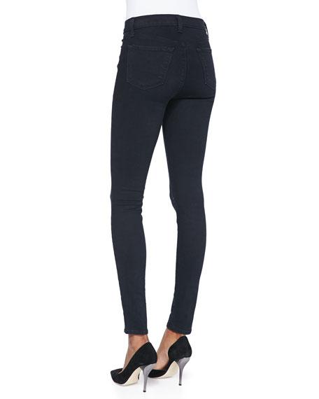 a6ef3e3bf73c J Brand Maria High-Rise Skinny Jeans, Bluebird