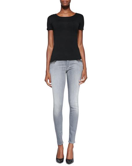 Spark Puritan Zip-Pocket Skinny Jeans