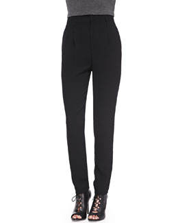 Alice + Olivia High-Waist Kate Trousers