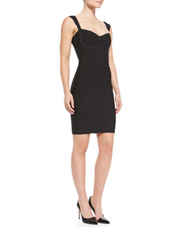 Herve Leger Abrielle Essential Signature Bandage Dress
