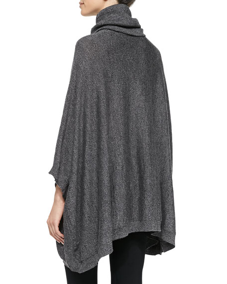 Jalea Turtleneck Poncho Sweater
