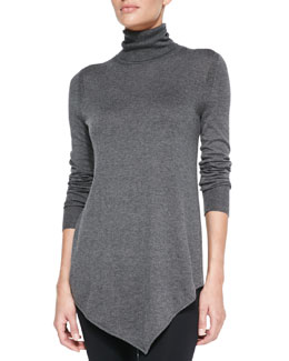 Joie Nilsa Slub-Knit Turtleneck Sweater