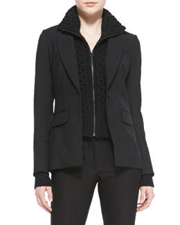 Veronica Beard Long & Lean Suiting Jacket